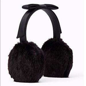 KATE SPADE Bow Headband Earmuffs